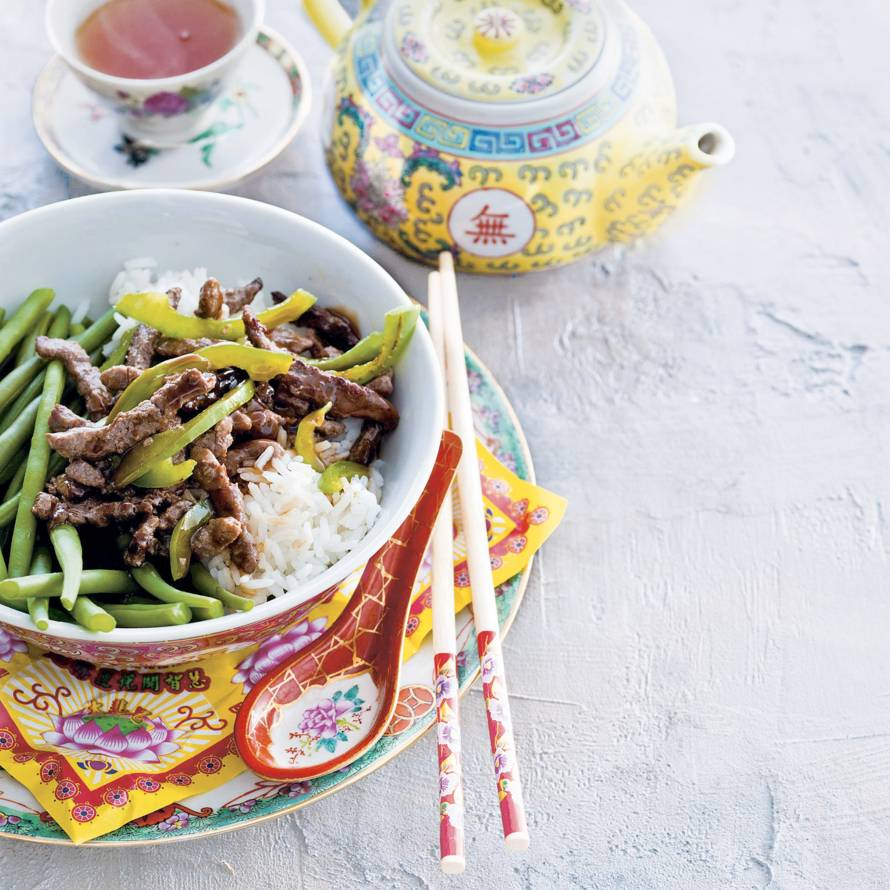 Kung po beef
