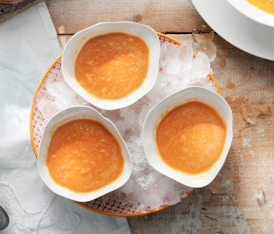 Gele gazpacho