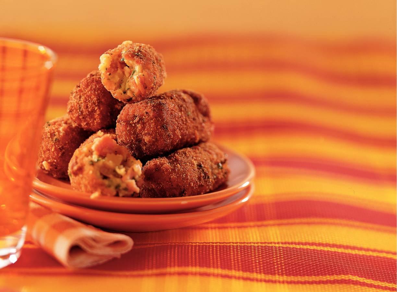 Spaanse kipkroketjes met rauwe ham