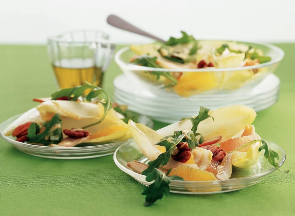 Witlofsalade met citrusfruit en honing-mosterddressing - Albert Heijn