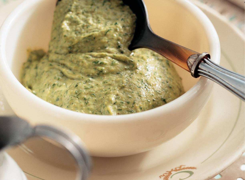 Groene saus uit Piemonte