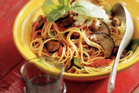 pasta zonder tomatensaus