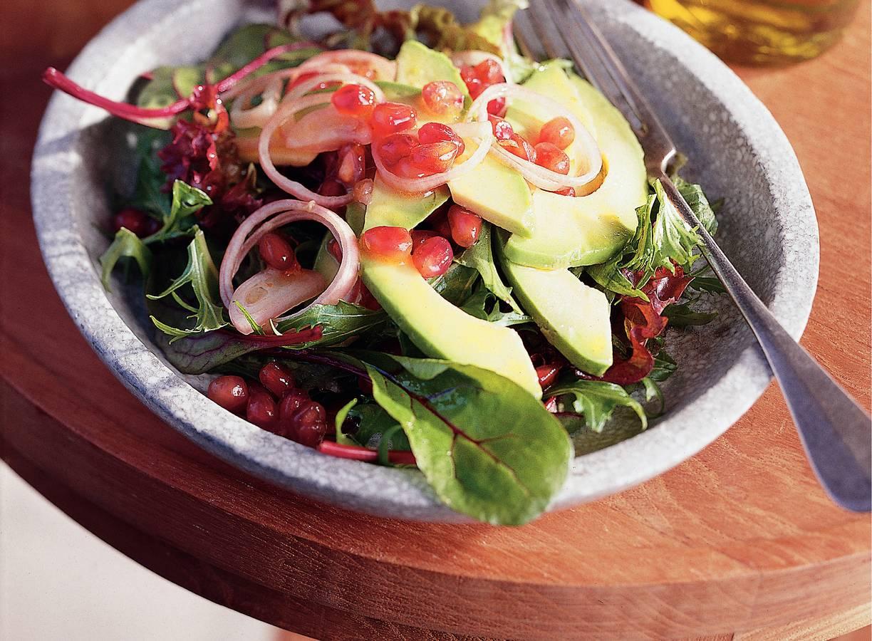 Pikante groene salade