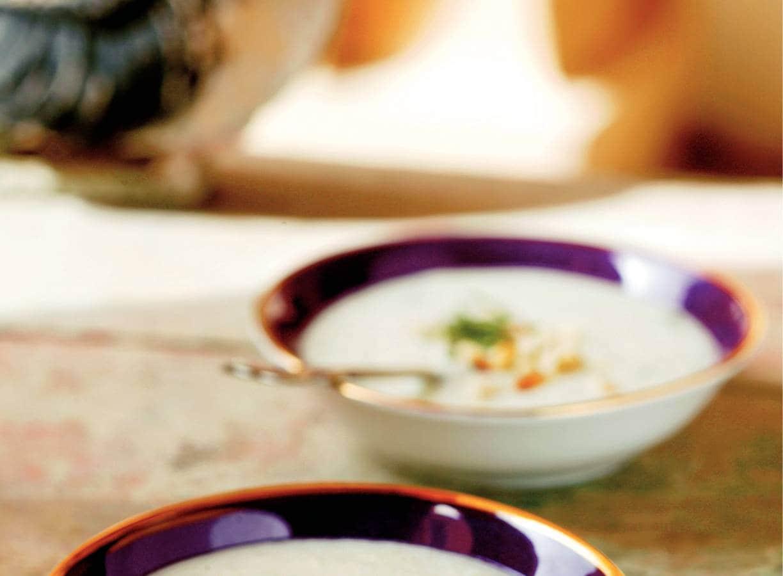 Koude yoghurtsoep
