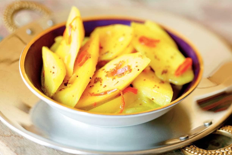 Mango op zuur