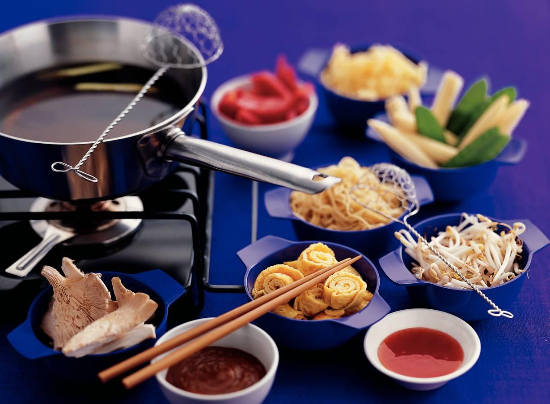 Chinese groentefondue