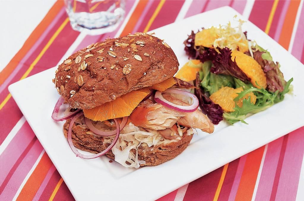 Makreelburgers met zuurkool - Albert Heijn