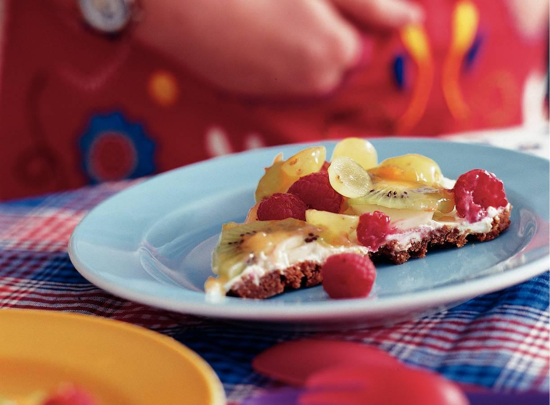 Platte fruitkoek
