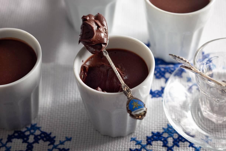 Chocoladekoffiepotjes