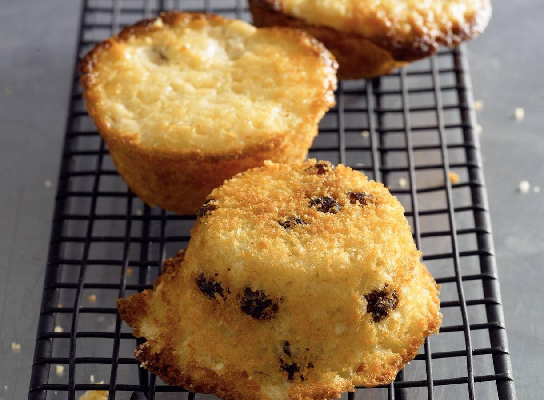 Appel-rozijnenmuffins
