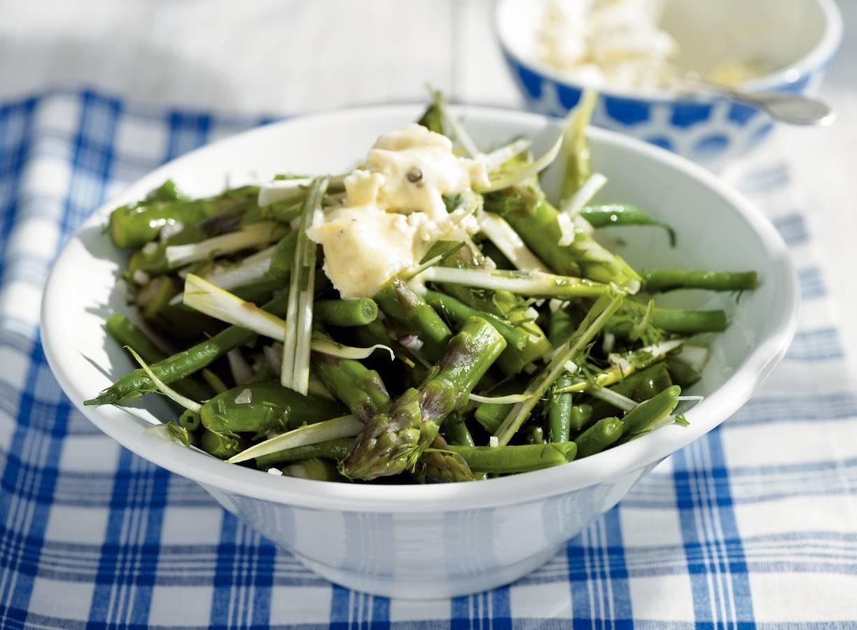 Groene groentesalade