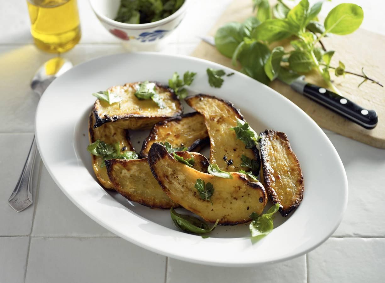 Geroosterde zoete aardappel