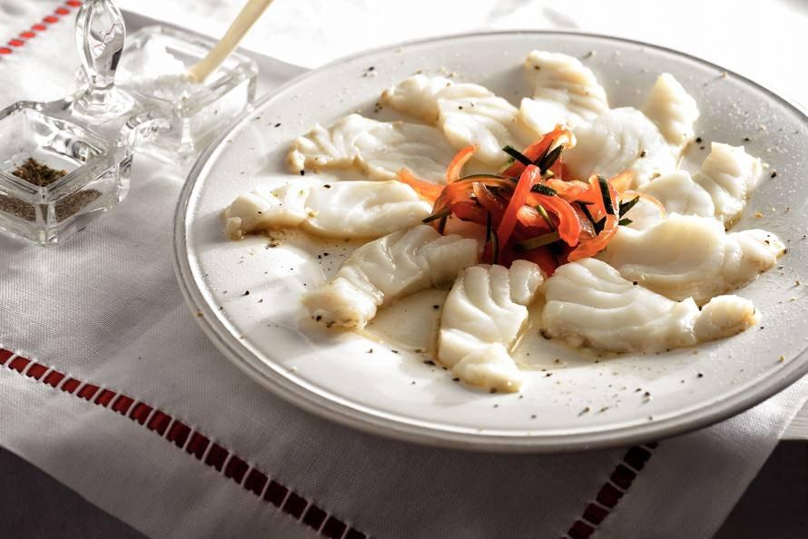 Warme carpaccio van kabeljauw recept allerhande albert heijn - Lijst van warme kleuren ...