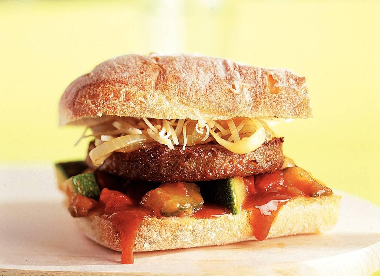 Mediterrane 'burgers'