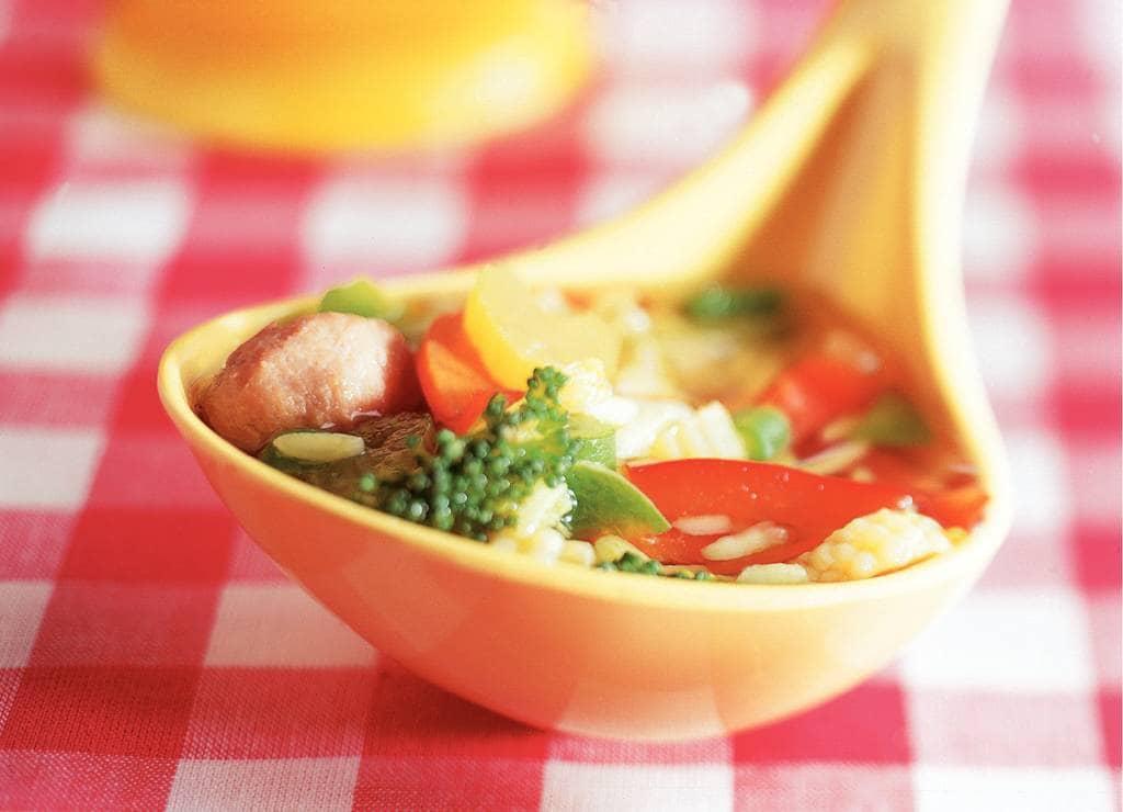 Groentesoep met rijst - Albert Heijn