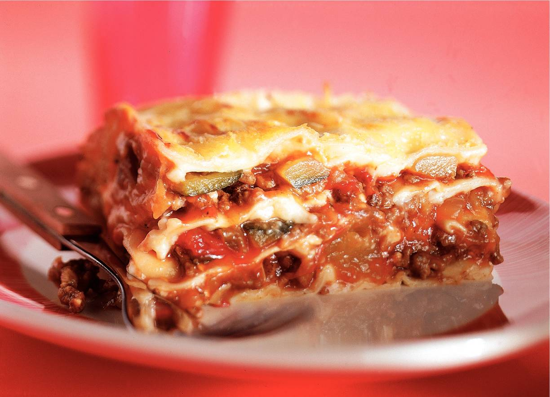 Lasagne met ratatouille