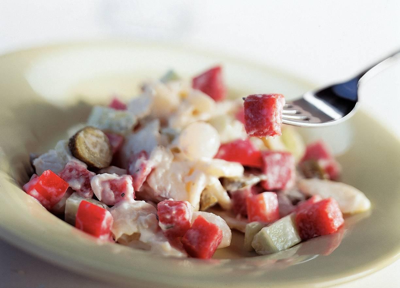 Stevige aardappelsalade