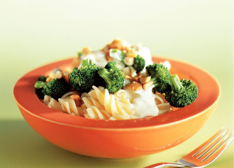 Pasta met broccoli-kaassaus