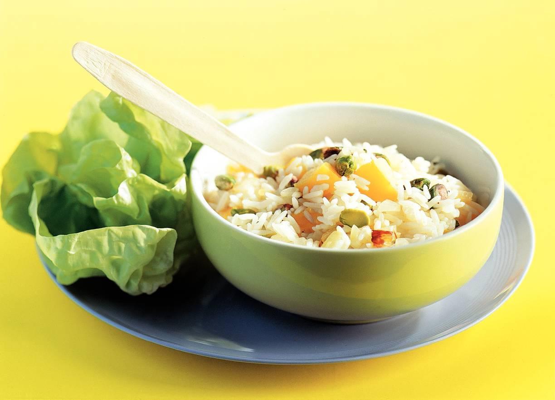 Rijst met pistachenoten