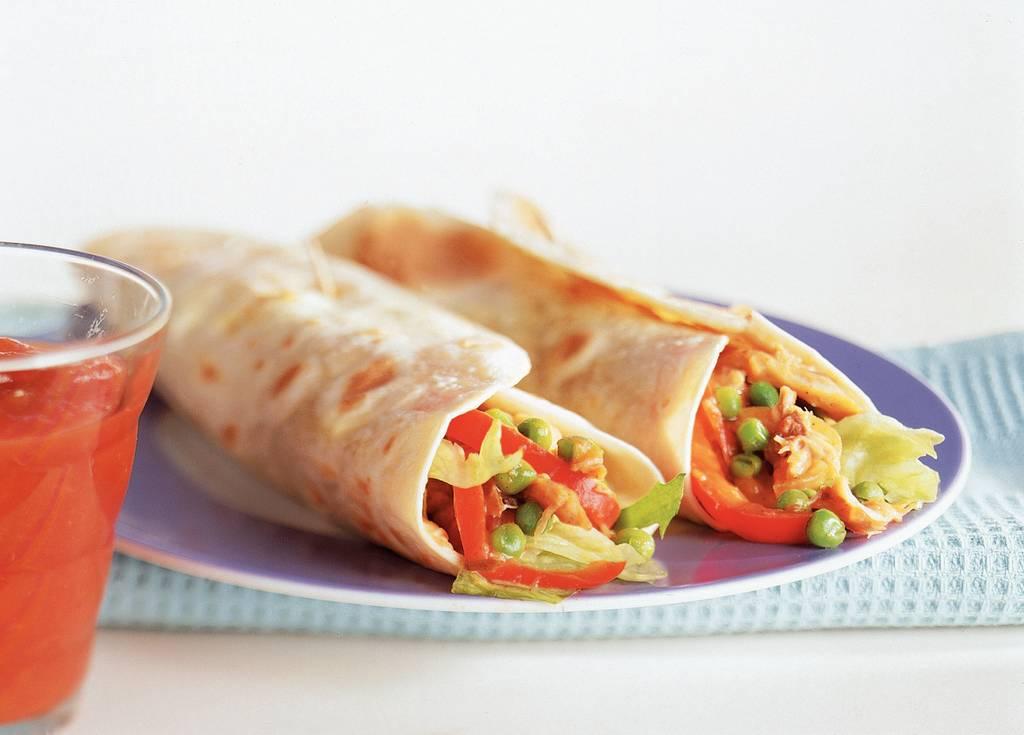 Burrito's met makreel - Albert Heijn