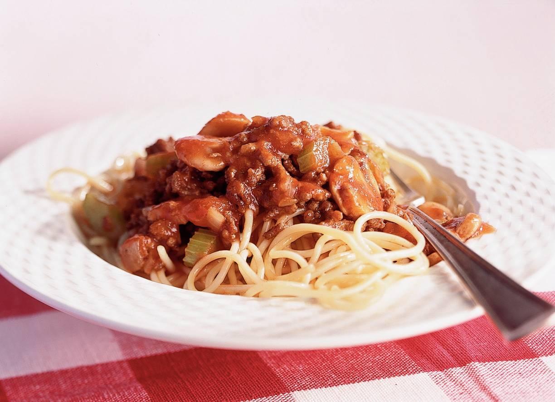 Kort-in-de-keuken spaghetti bolognese