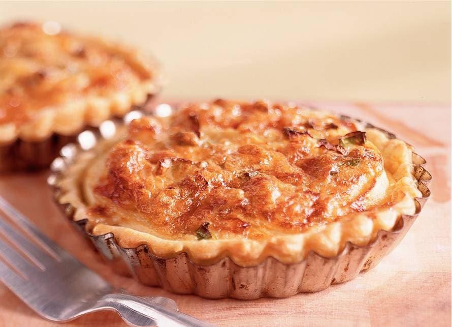 Frans roquefort-appeltaartje