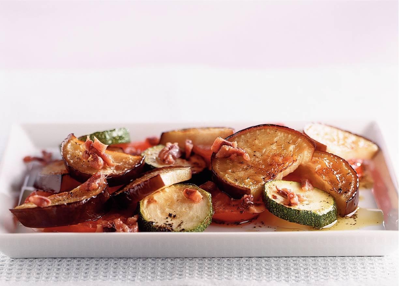 Salade van geroosterde groenten