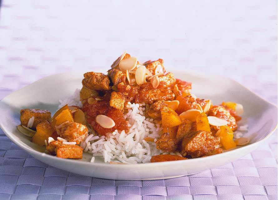 Vegetarische Indiase curry