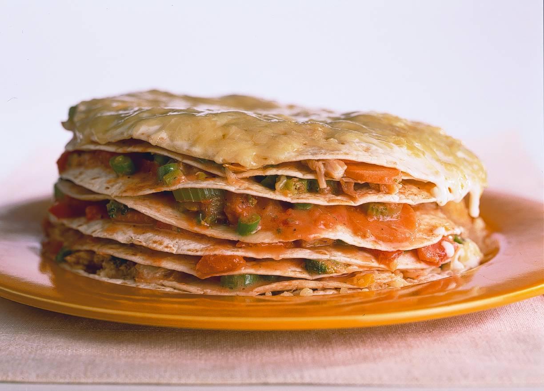 Tortillataart met makreel