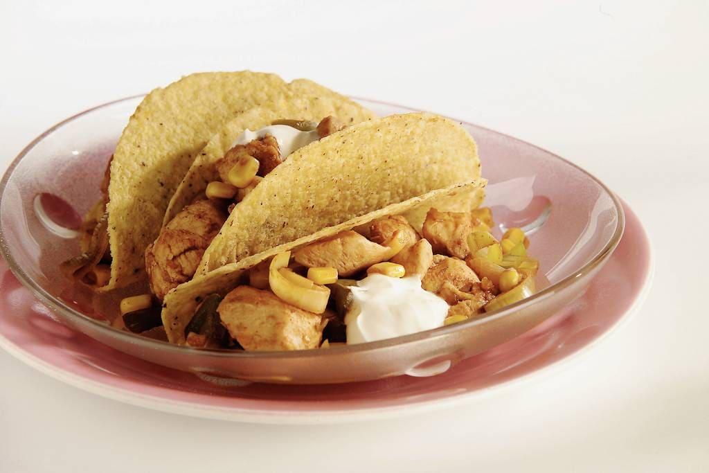 Taco's met kip en maïs - Albert Heijn