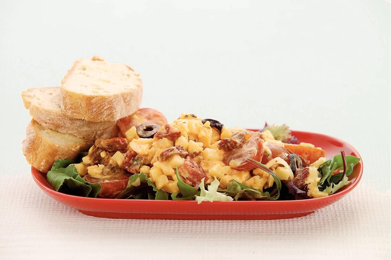Mediterrane aardappelsalade