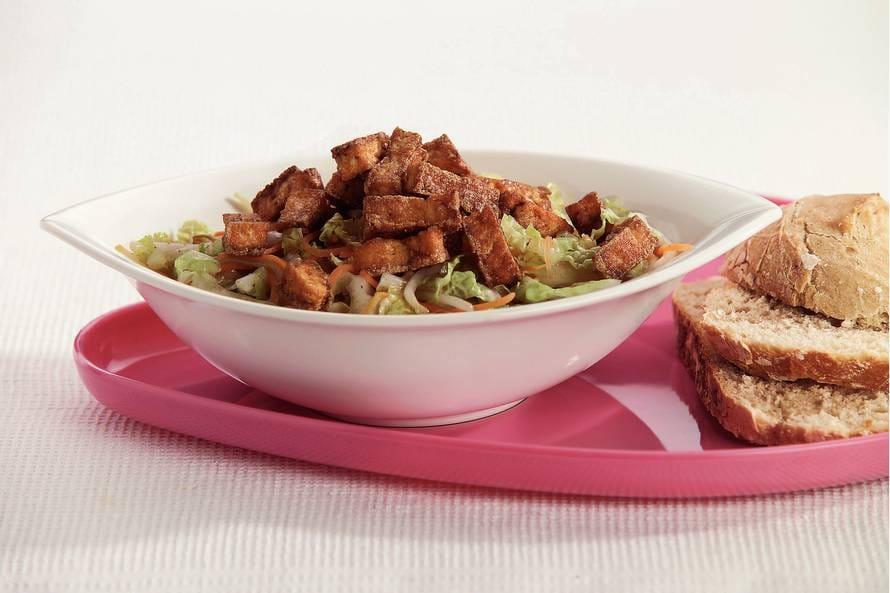 Chinese salade met limoendressing