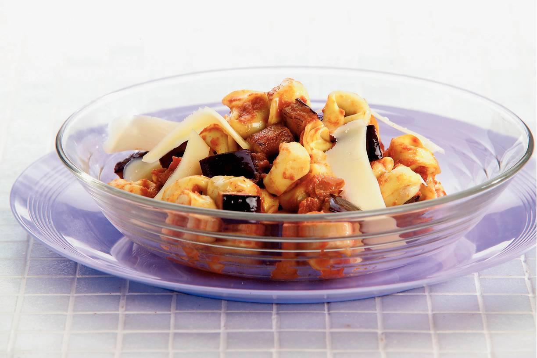 Tortellini met tomaat-mascarponesaus