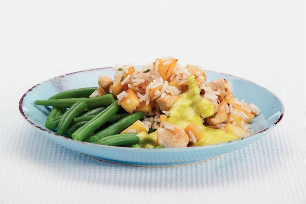 Rijstschotel met kip en kerriesaus - Albert Heijn