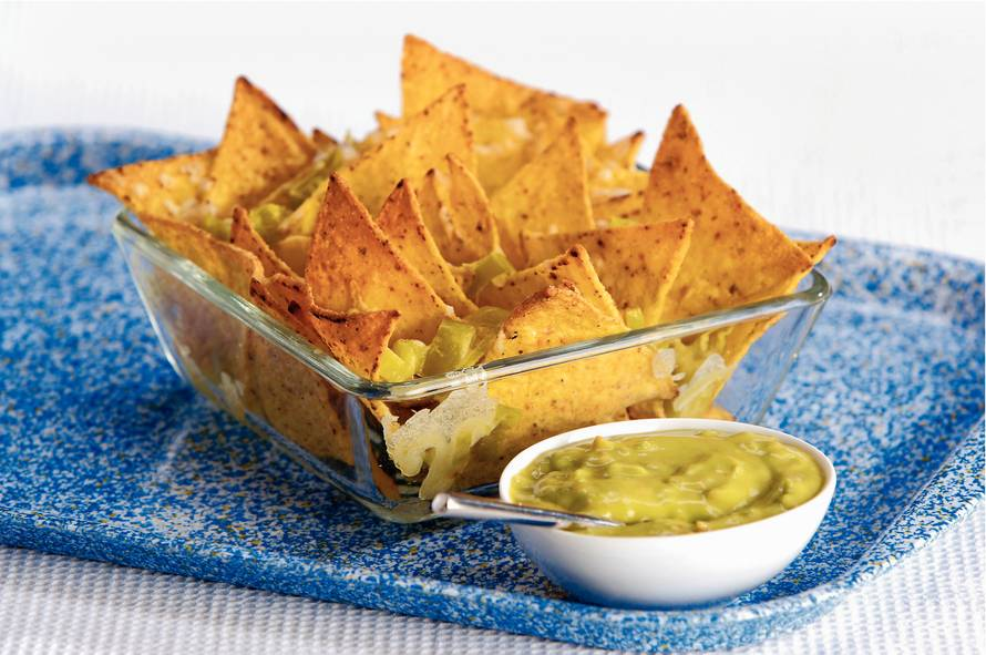 Bedwelming Nachos met guacamole - Recept - Allerhande - Albert Heijn @DR68