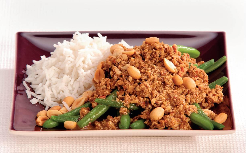 Tofu in pittige ketjapsaus