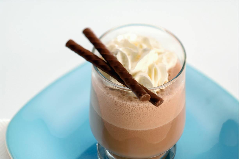 Koffie-chocoladeshake