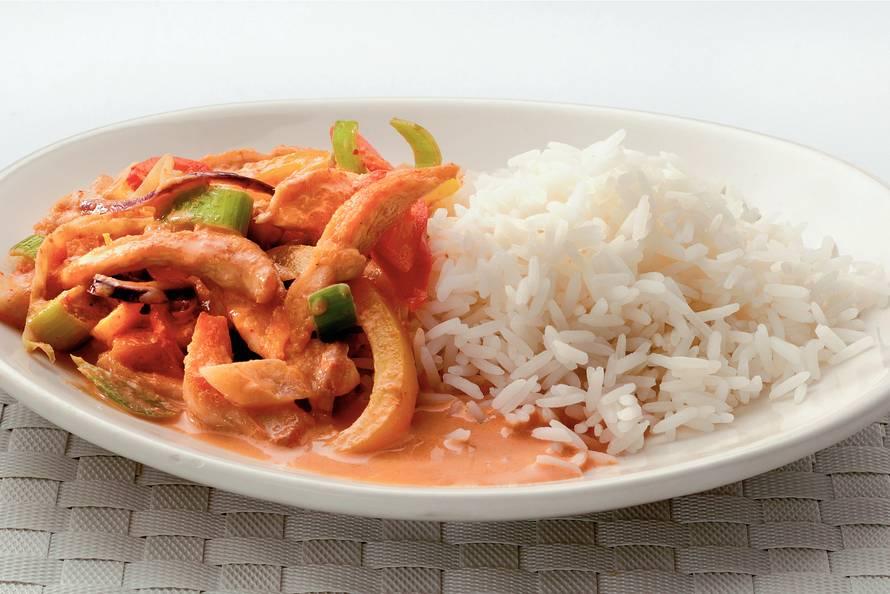 Thaise curry met kipfilet