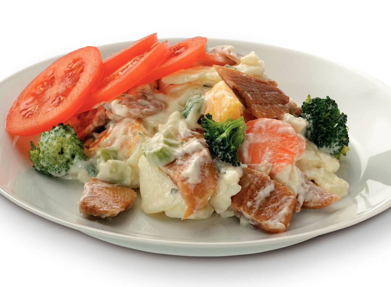 Haring-aardappelsalade