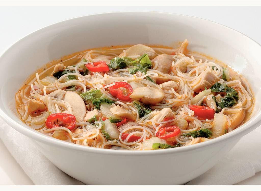 Thaise soep met kip en miehoen - Albert Heijn