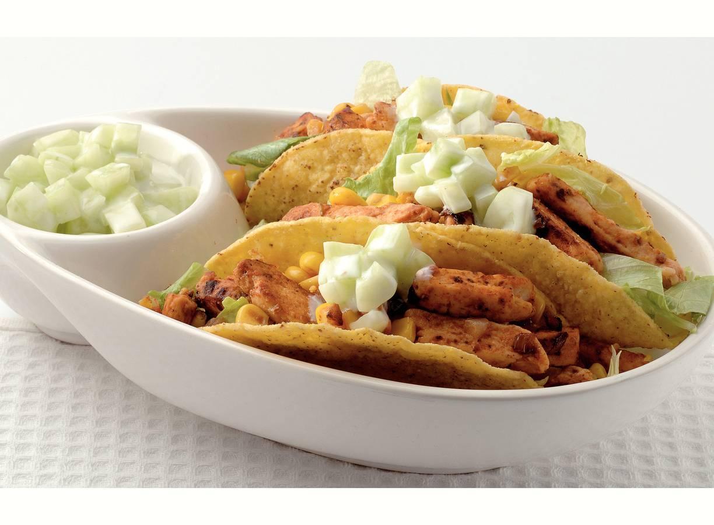 Tacoschelpen met Quorn