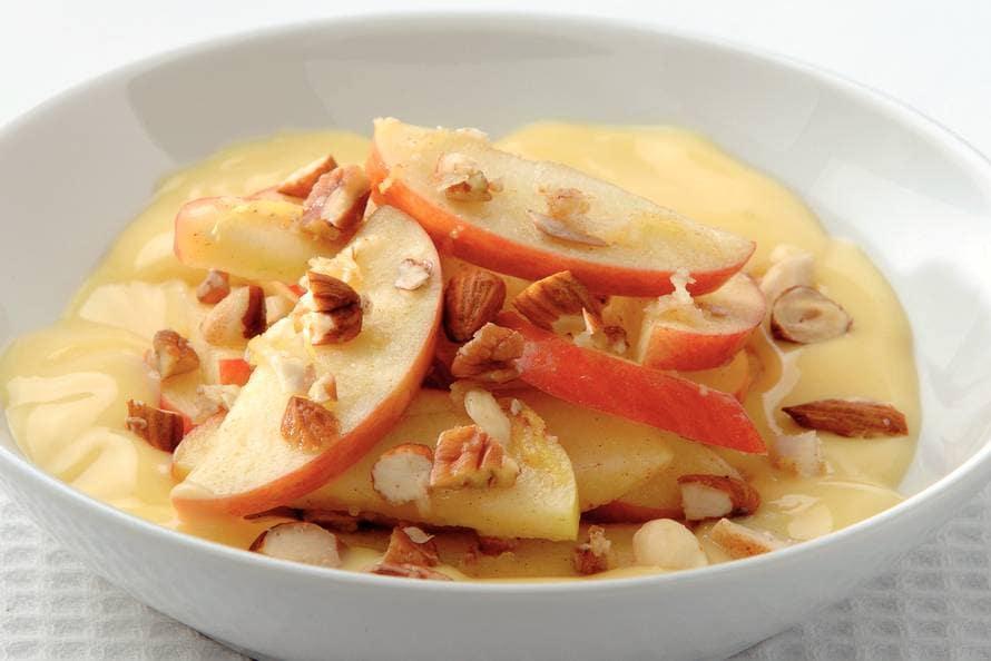 Appelsalade met noten