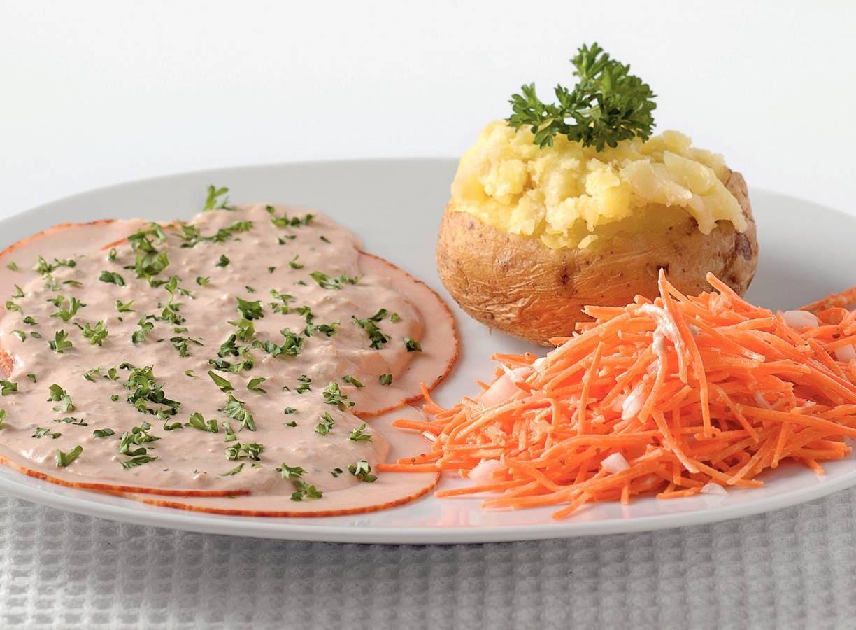 Pollo tonato met frisse salade