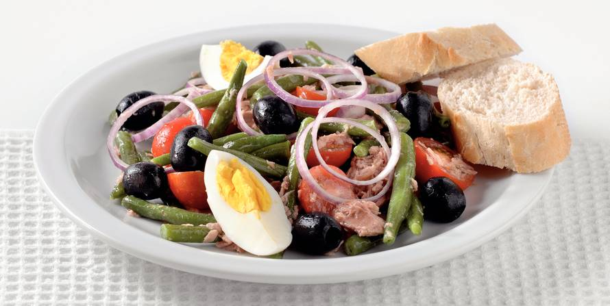 Franse salade niçoise