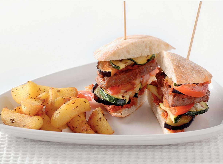 Mediterrane burger