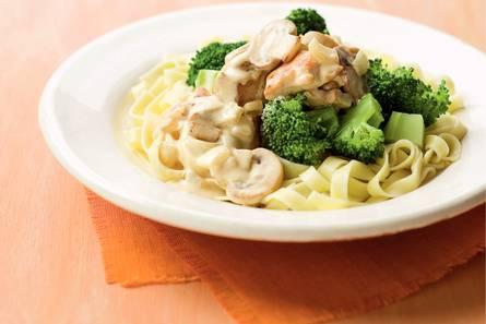 recept pasta met kip en broccoli