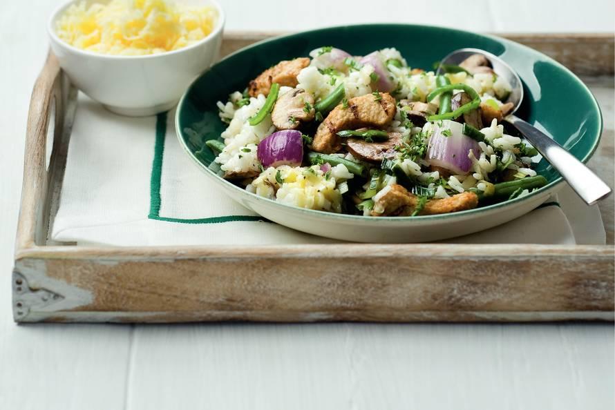 risotto groenten recept