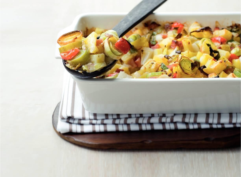 Aardappel-ananasschotel
