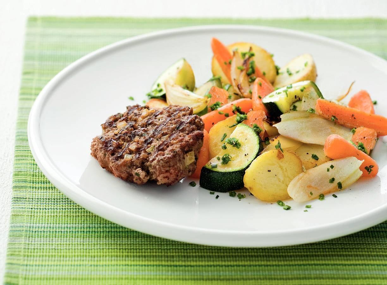 Kruidig tartaartje met gewokte groenten