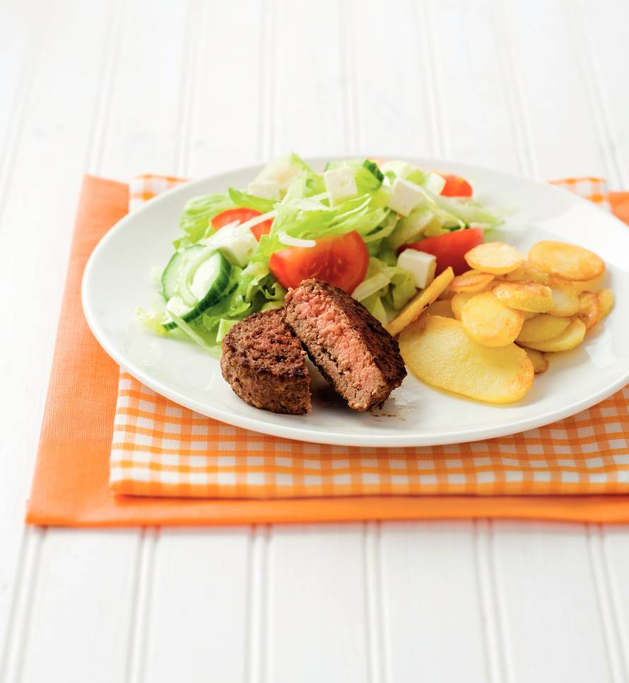 Tartaartje met Griekse salade